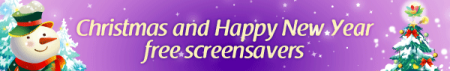 Christmas screensavers banner