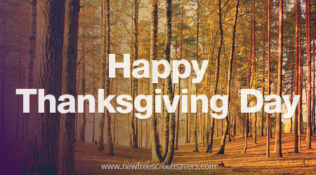 Happy Thanksgiving Day e card