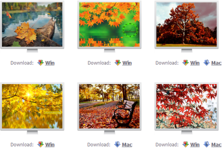 autumn screensavers