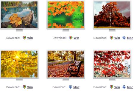 autumn screensavers