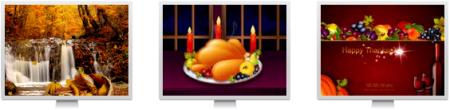 thanksgiving day screensavers