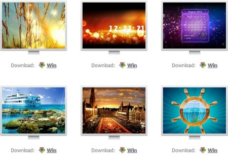 free screensavers for windows
