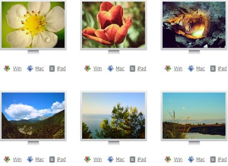 free wallpapers fro windows, Mac and iPad