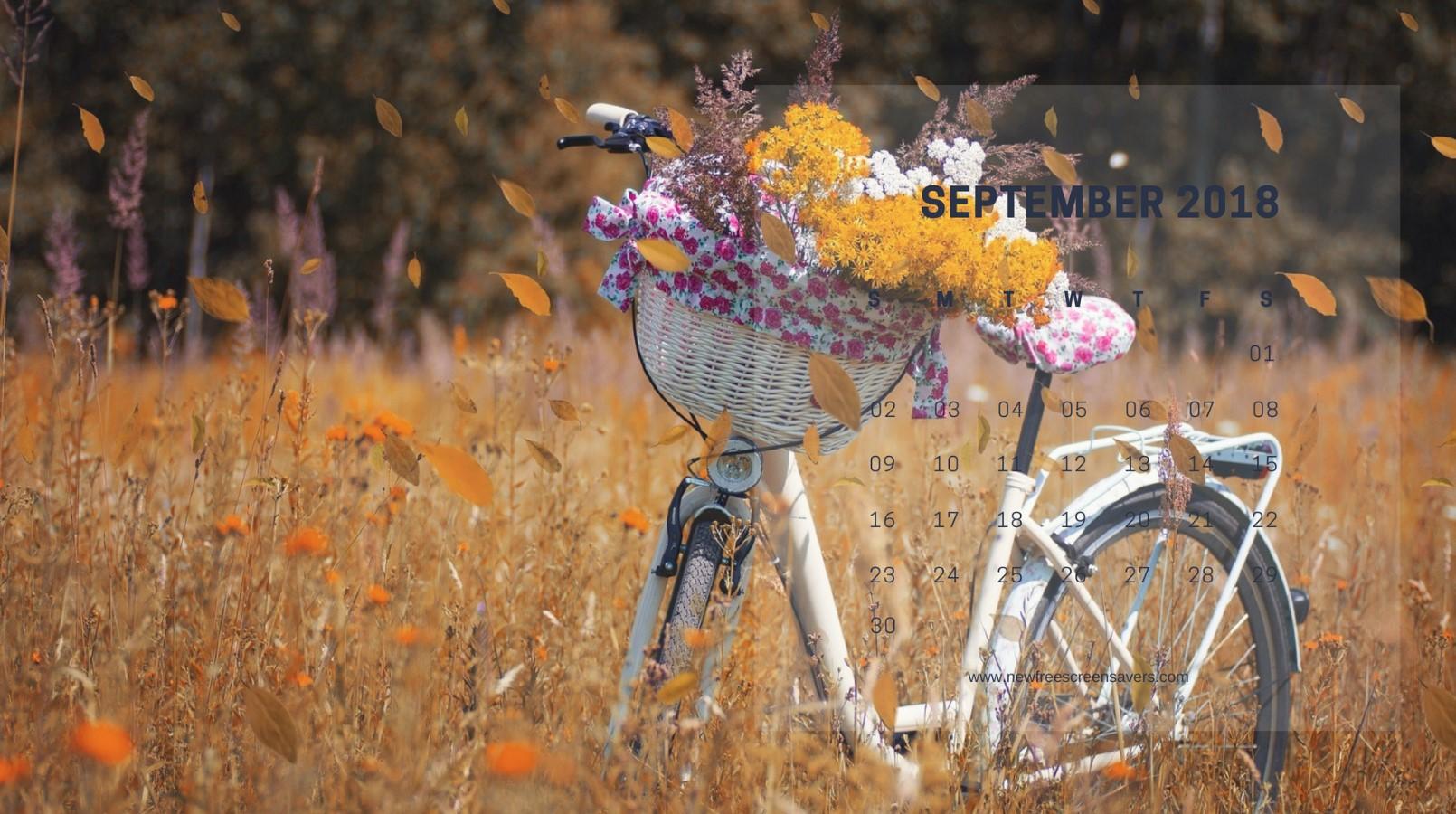 All Photos Gallery Desktop Wallpapers Free Desktop: Desktop Wallpapers With A Calendar For September