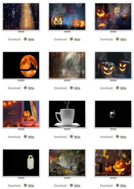 Halloween free screensavers